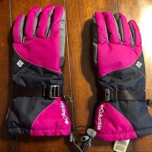 Pink Columbia Omni-TECH gloves size L
